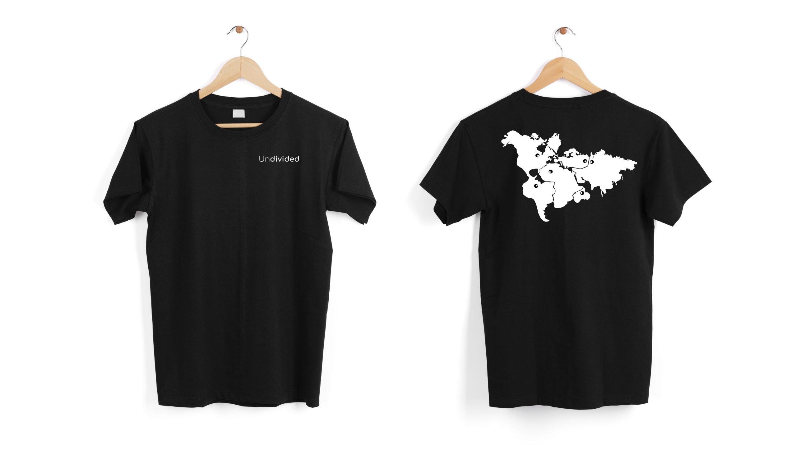 World Map T-Shirt Illustration by Mattia Pesiri- AntonellaM