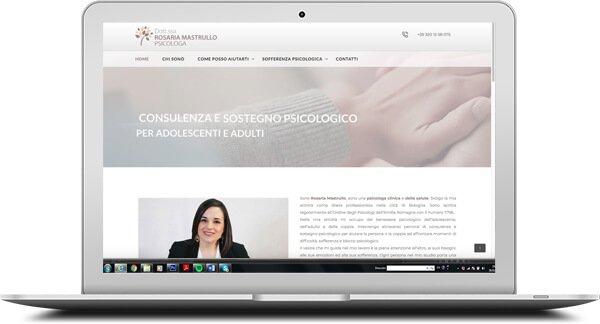 Rosaria Mastrullo Psicologa - Website by AntonellaM
