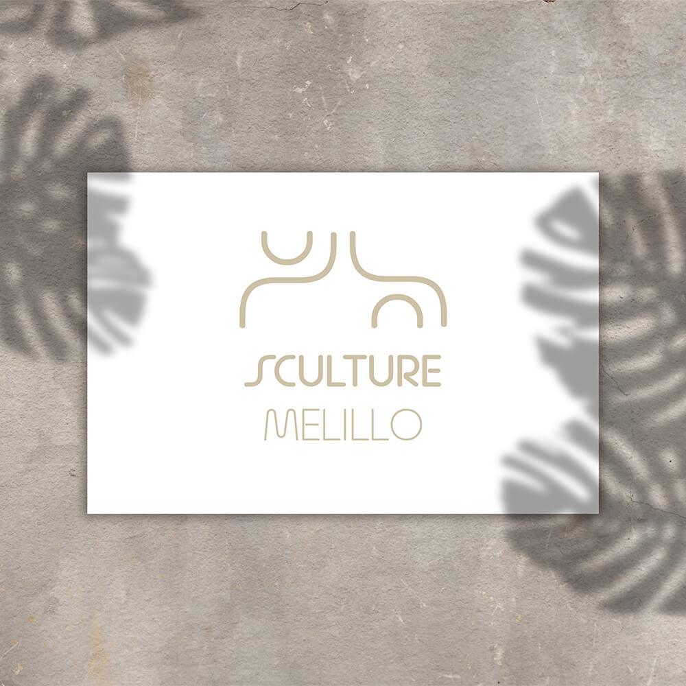 Sculture Melillo Logo Presentation - Mattia Pesiri